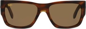 Ray-Ban RB2187 Nomad Legend Gold 54mm striped havana/brown classic (RB2187-954/33)
