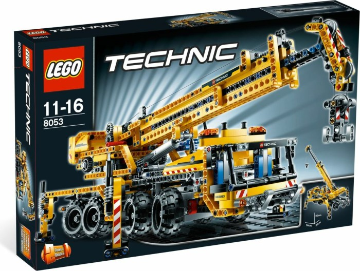 LEGO - Technic Baustelle - Mobiler Kran (8053) -- via Amazon Partnerprogramm