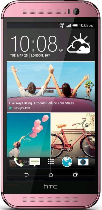 htc one m8 16gb pink heise online preisvergleich. Black Bedroom Furniture Sets. Home Design Ideas