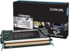 Lexmark Toner C746H2KG black high capacity