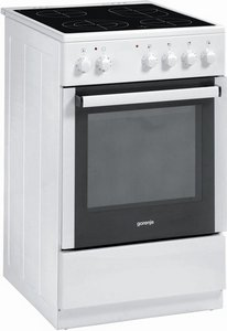 Gorenje EC57126AW electric cooker with ceramic hob