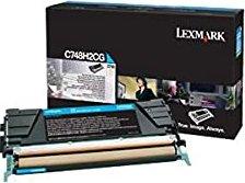 Lexmark Toner C748H2CG cyan hohe Kapazität