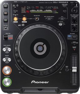 Pioneer CDJ-1000 MKIII CD turntable black