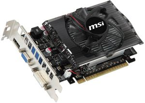 MSI N430GT-MD2GD3, GeForce GT 430, 2GB DDR3, VGA, DVI, HDMI (V809-014R)