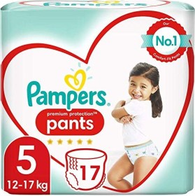 Pampers Premium Protection Pants Gr.5 disposable diaper, 12-17kg, 17 pieces