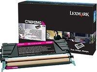 Lexmark Toner C748H2MG magenta hohe Kapazität
