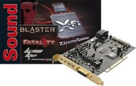 Creative Sound Blaster X-Fi XtremeGamer Fatal1ty Professional Series, PCI (70SB046A02004/70SB046A02007)