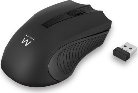 Ewent Wireless Mouse 1000dpi schwarz, USB (EW3222)