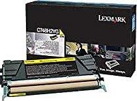 Lexmark Toner C748H2YG gelb hohe Kapazität