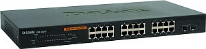 D-Link DGS-1224T, 24-port, smart managed