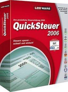Lexware: QuickSteuer 2006 12.0 (PC) (06810-0036/06810-0038)