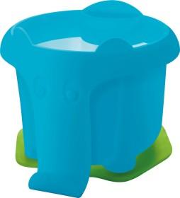 Pelikan Wasserbecher Elefant mit Pinselhalter, blau (808980)