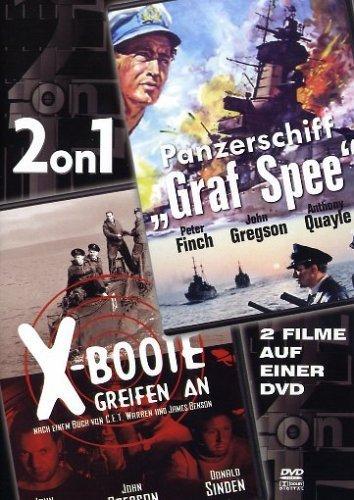 Panzerschiff Graf Spee/X-Boote greifen an -- via Amazon Partnerprogramm