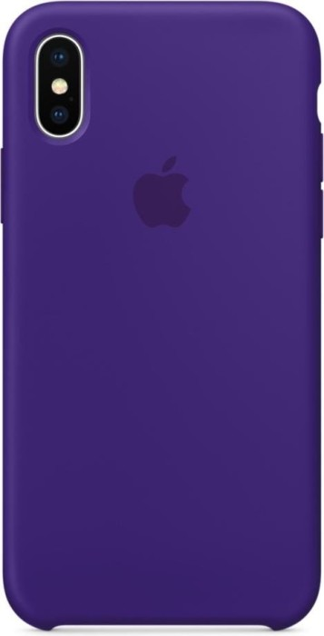 size 40 2a159 399f4 Apple silicone case for iPhone X ultraviolet (MQT72ZM/A) | Skinflint ...