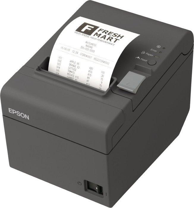 Epson TM-T20II LAN, Cutter, schwarz, EU (C31CD52003/C31CD52007)
