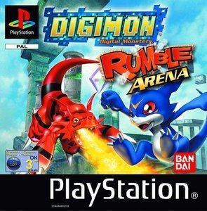Digimon Rumble Arena (niemiecki) (PS1)