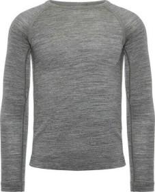 Icebreaker Merino 200 Oasis Crewe Shirt langarm gritstone heather (Junior) (104501-013)