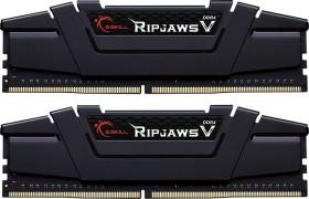 G.Skill RipJaws V schwarz DIMM Kit 64GB, DDR4-3600, CL16-22-22-42 (F4-3600C16D-64GVK)