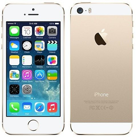 apple iphone 5s 16gb wei gold in mobiltelefone handys. Black Bedroom Furniture Sets. Home Design Ideas