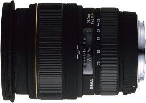 Sigma AF 24-70mm 2.8 EX DG Asp macro for Nikon F black (548944)