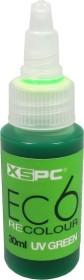 XSPC EC6 Coolant UV Green, water additive, UV-active, 30ml