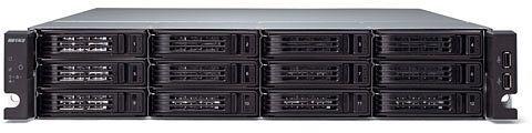 Buffalo TeraStation 7120r 72TB, 4x Gb LAN, 2HE (TS-2RZH72T12D)