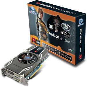 Sapphire Radeon HD 6870, 1GB GDDR5, 2x DVI, HDMI, 2x mDP, full retail (11179-00-40R)