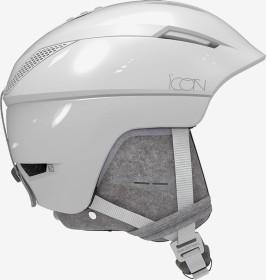 Salomon Icon² C.Air Helm white glossy premium (Damen) (408371)