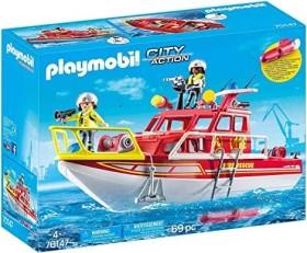 playmobil City Action - Feuerlöschboot (70147)
