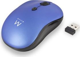 Ewent Wireless Mouse 1600dpi blau, USB (EW3231)
