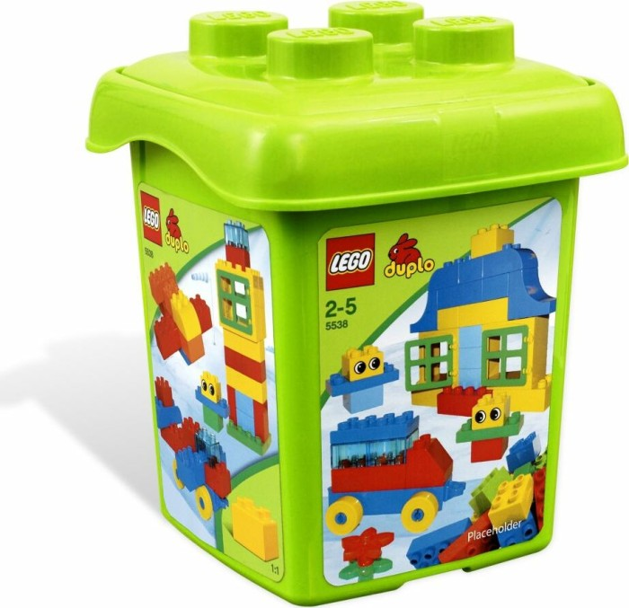 LEGO - DUPLO Bricks Starter Set - Creative Bucket (5538) -- via Amazon Partnerprogramm