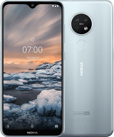 Nokia 7.2 Dual-SIM 64GB ice
