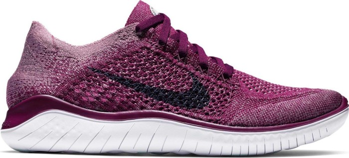 Nike FRee RN Flyknit 2018 Women (raspberry redblue void)