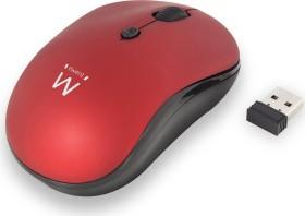 Ewent Wireless Mouse 1600dpi rot, USB (EW3230)