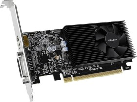 GIGABYTE GeForce GT 1030 Low Profile D4 2G, 2GB DDR4, DVI, HDMI (GV-N1030D4-2GL)