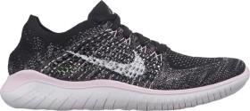 Nike Free RN Flyknit 2018 black/pink foam/white (Damen) (942839-007)