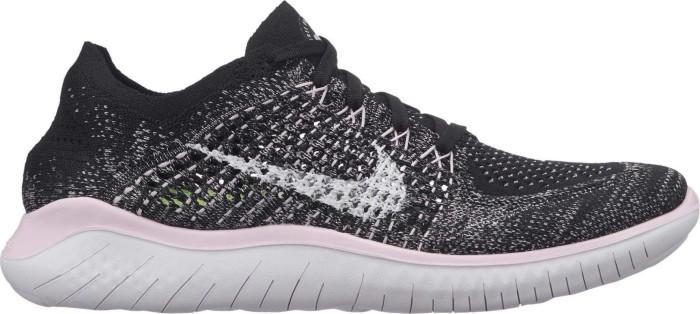 Nike Free RN Flyknit 2018 black/pink foam/white (Damen) (942839-007) ab €  81,99