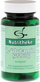 11A Nutritheke L-Glutamin 500mg Kapseln, 60 Stück