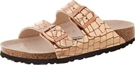 Birkenstock Arizona Mikrofaser gator gleam copper (Damen) (1016046/1016047)