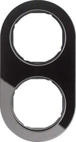 Berker Serie R.classic Rahmen 2fach, schwarz (10122016)