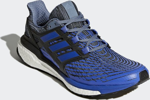 Adidas Energy Boost Men's Running Shoes Raw Steel, Hi Red Blue, Black CP9539