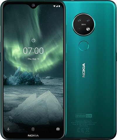 Nokia 7.2 Dual-SIM 128GB cyan green