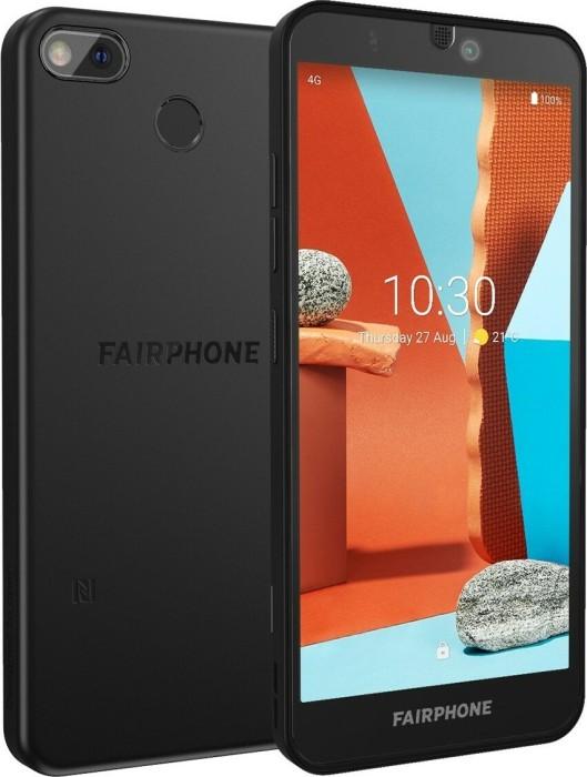 Fairphone 3+ schwarz