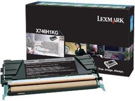 Lexmark Return Toner X746H1KG black
