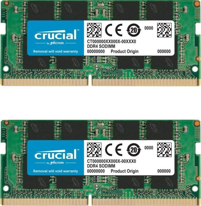 Crucial SO-DIMM Kit 32GB, DDR4-3200, CL22 (CT2K16G4SFD832A)
