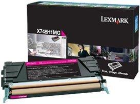 Lexmark Return Toner X748H1MG magenta high capacity