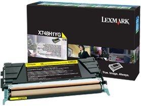 Lexmark Return Toner X748H1YG yellow high capacity