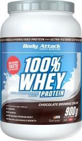 Body Attack 100% Whey Protein Chocolate Cream 900g (4250350518373)