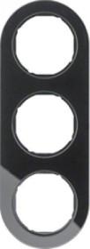Berker Serie R.classic Rahmen 3fach, schwarz (10132016)