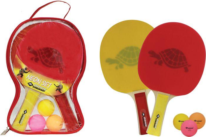 Donic Schildkröt Tischtennis-Set Neon